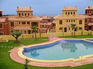 Holiday Letting Costa Blanca - View of the swimming pool
